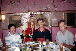 Todd Wehner in China